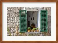 Window View - Kotor, Montenegro Fine-Art Print
