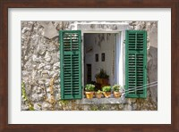 Window View - Kotor, Montenegro Fine-Art Print