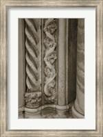 Architecture Detail in Sepia III Fine-Art Print