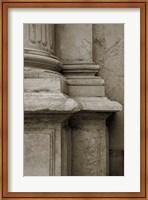 Architecture Detail in Sepia IV Fine-Art Print