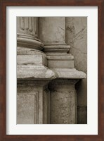 Architecture Detail in Sepia IV Fine-Art Print