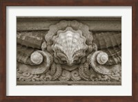 Architecture Detail in Sepia VI Fine-Art Print