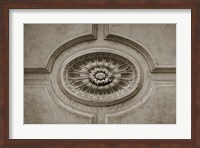 Architecture Detail in Sepia VII Fine-Art Print