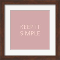 Simple Sentiment IV Fine-Art Print