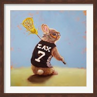 Lax Bunny Fine-Art Print