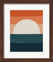 Teal Orange Sunset Fine-Art Print