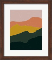 Terracotta Mountains Fine-Art Print