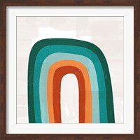 Teal Orange Rainbow Fine-Art Print