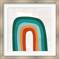 Teal Orange Rainbow Fine-Art Print