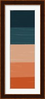 Teal Orange Sunset II Fine-Art Print