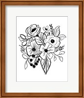 Flower Sketch Fine-Art Print