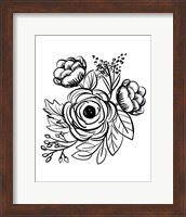 Flower Sketch II Fine-Art Print
