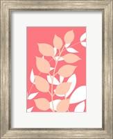Coral Foliage I Fine-Art Print