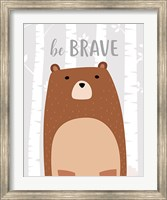 Be Brave Bear Fine-Art Print