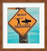 Beach Crossing Fine-Art Print