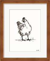 Farmhouse Chicken Fine-Art Print