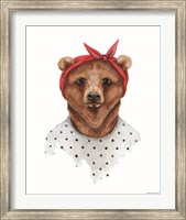 Bear in Bandana Fine-Art Print