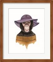 Cozy Chimp Fine-Art Print