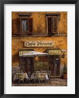 Cafe Verona Fine-Art Print
