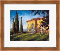 A Rural Villa Fine-Art Print
