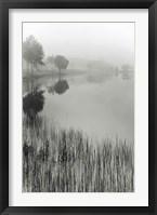 Lakeside Mist Fine-Art Print