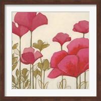Ladybug Flowers I Fine-Art Print
