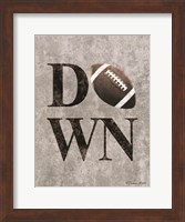 Football DOWN Fine-Art Print