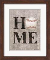 Baseball HOME Fine-Art Print