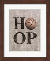 Basketball HOOP Fine-Art Print