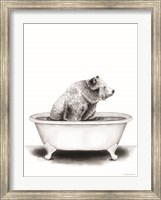 Bear in Tub Fine-Art Print