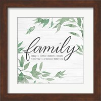 Family on Shiplap I Fine-Art Print