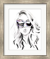 Look into the Sun(Glasses) I Fine-Art Print