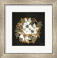 Gold Geometric Hexagon Fine-Art Print