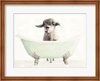 Vintage Tub with Goat Fine-Art Print