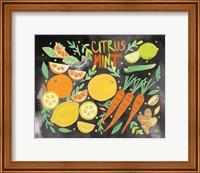 Fruitie Smoothie IV on Black Fine-Art Print