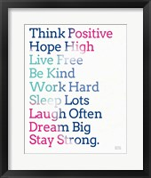 Key to Happiness I Hot Pink Fine-Art Print