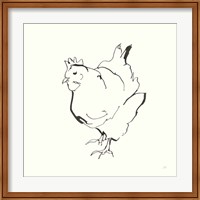 Line Chicken II Fine-Art Print