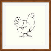 Line Chicken I Fine-Art Print