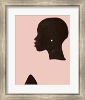 Pink Silhouette I Fine-Art Print