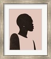 Pink Silhouette II Fine-Art Print