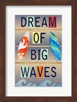 Dream of Big Waves Fine-Art Print