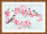 Flowers and Feathers II Fine-Art Print