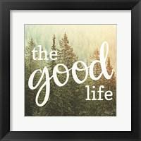 The Good Life Fine-Art Print