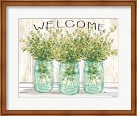 Welcome Glass Jars Fine-Art Print
