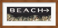 Beach Sign Fine-Art Print