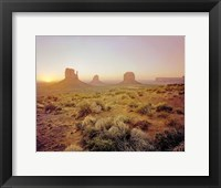 Dawn in the Desert Fine-Art Print