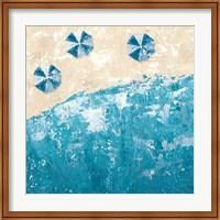 Beach Days Blue Fine-Art Print