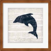 Driftwood Coast VIII Blue Fine-Art Print