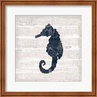 Driftwood Coast VI Blue Fine-Art Print