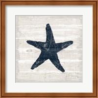 Driftwood Coast V Blue Fine-Art Print